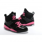 basket air jordan noir et rose